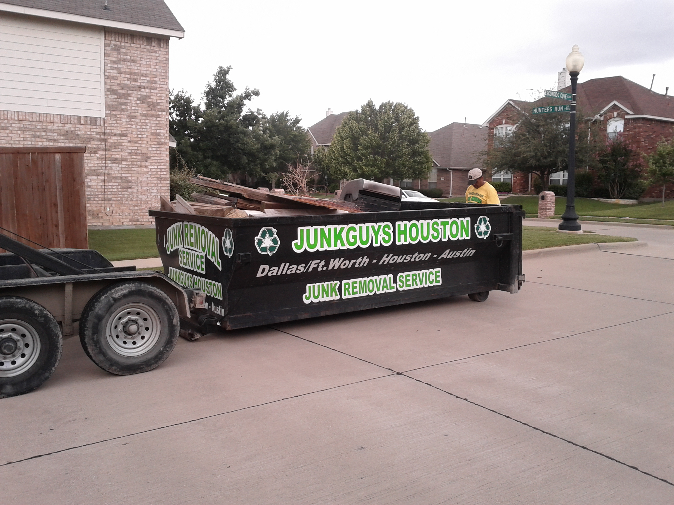 Home Improvement Dumpster Picked Up In Wylie Tx 75098