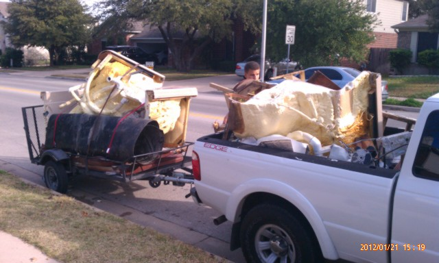 Removal Of A Bed And Mattress In Converse Texas Junkguys